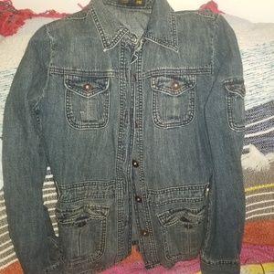 J Crew vintage jean jacket